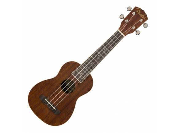 Ukulele Fender Seaside Nat Soprano Ukulele