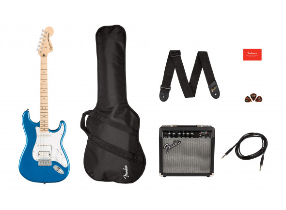 Packs de guitarra  Fender  SQ Aff. Strat HSS MN PACK LPB