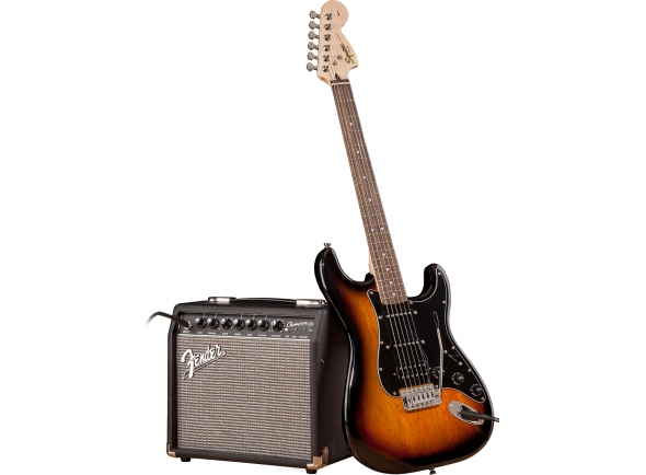 Packs de guitarra  Fender SQ Affi Strat Pack HSSBSB IL