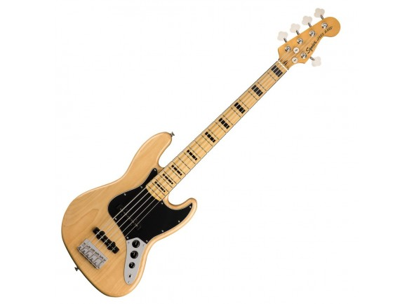 Baixo de 5 Cordas Fender SQ CV 70s Jazz Bass V MN NAT