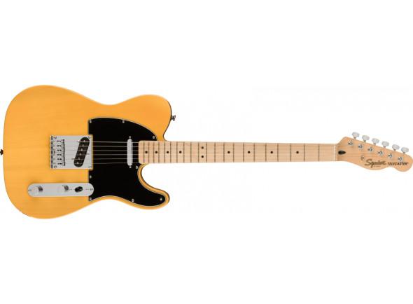 Guitarras formato T Fender Squier Affinity Series Maple Fingerboard Black Pickguard Butterscotch Blonde