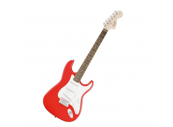 Guitarras formato ST Fender Squier Affinity Strat Race Red