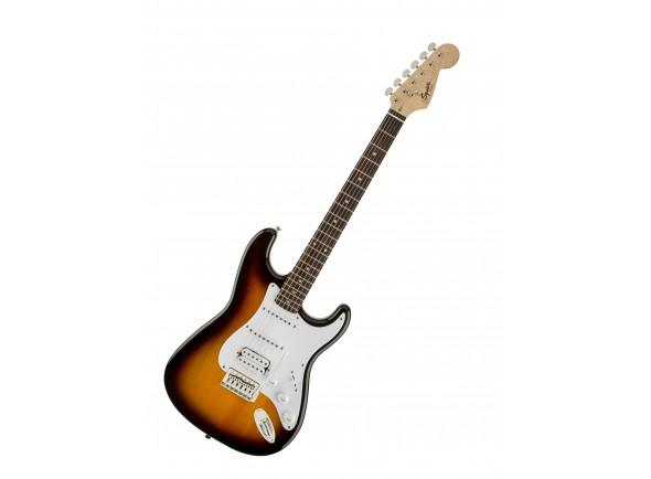 Ver mais informações do  Fender Squier Bullet Strat HSS RW BSB