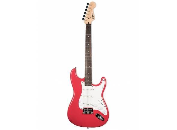 Ver mais informações do Guitarra tipo ST Fender Squier Bullet Strat HT RW FR