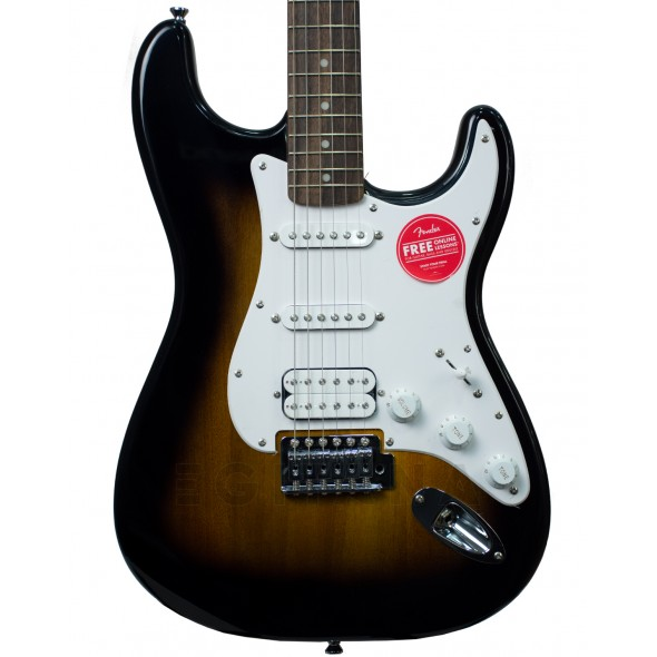 Modelo ST/Guitarras formato ST Fender Squier Bullet Strat with Tremolo HSS IL Brown Sunburst