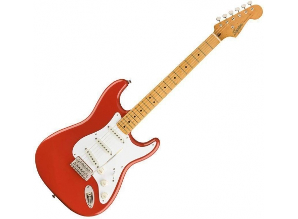 Guitarras formato ST Fender SQ CV 50s Stratocaster MN Fiesta Red