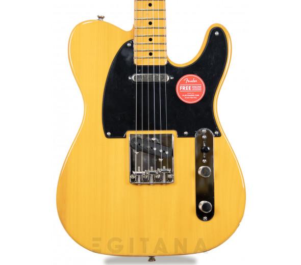 Guitarras formato T Fender  SQ CV  50s Telecaster MN Butterscotch Blonde