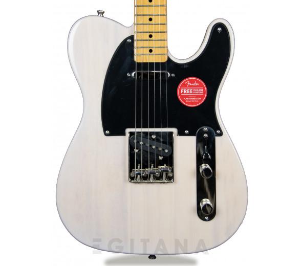Guitarras formato T Fender SQ CV 50s Telecaster MN White Blonde