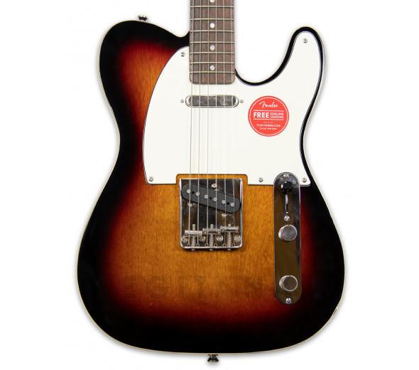 Guitarras formato T Fender SQ CV  Custom Telecaster 60s 3-SB