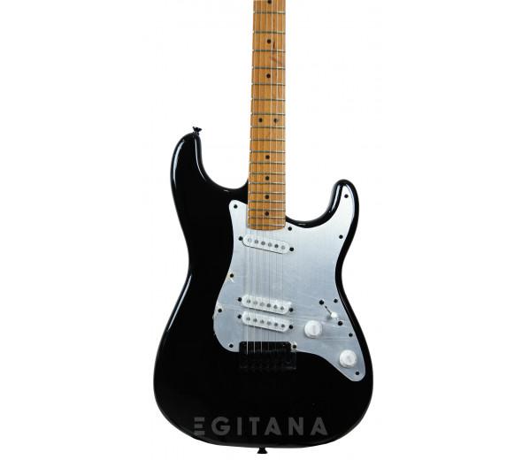 Guitarras formato ST Fender  Squier Contemporary Special Roasted MN Black