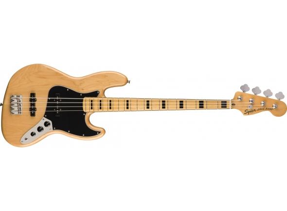 Baixo elétrico de 4 cordas/Baixo de 4 Cordas Fender squier CV 70s Jazz Bass MN NAT