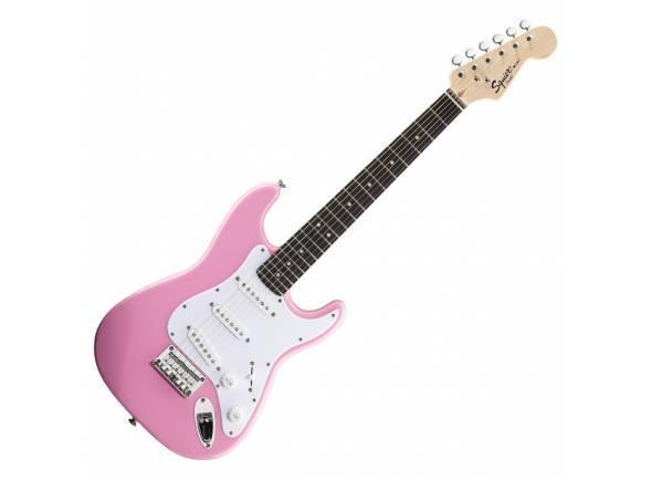 Guitarras criança 3/4/Modelos de criança / shortscale Fender Squier Mini Pink