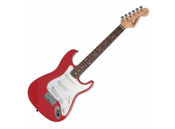 Guitarras criança 3/4/Modelos de criança / shortscale Fender Squier Mini Red