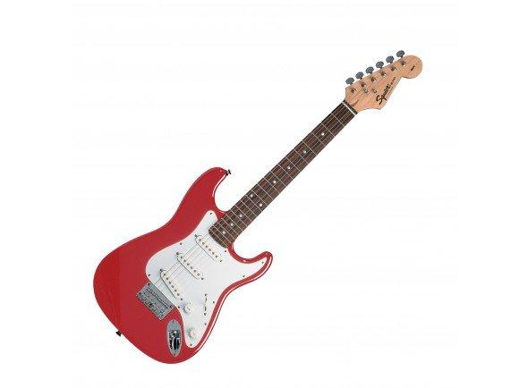 Guitarras criança 3/4/Modelos de criança / shortscale Fender Squier Strat Mini RD