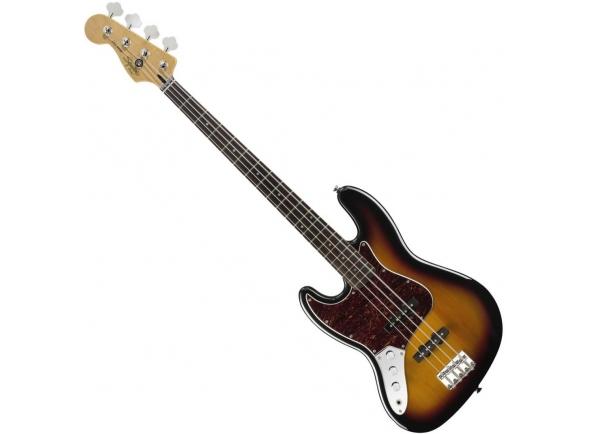Baixo Eléctrico para Esquerdinos Fender Squier Vint Mod Jazz 3CSB LH