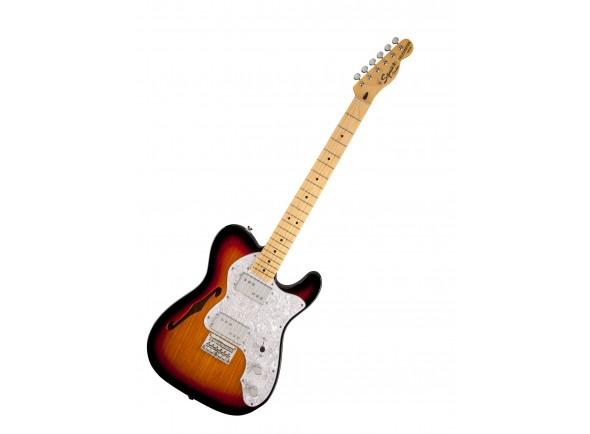 Guitarras formato T Fender Squier Vint Modi 72 Tele Thin 3TS