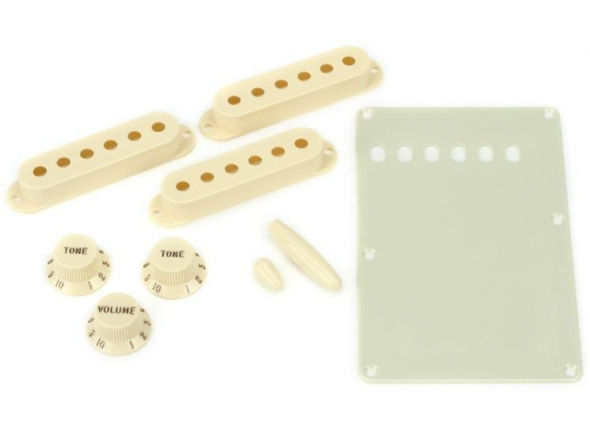 Capas para pick-ups Fender Strat Accessory Kit Aged White