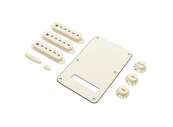 Capas para pick-ups Fender Strat Accessory Kit Parchment