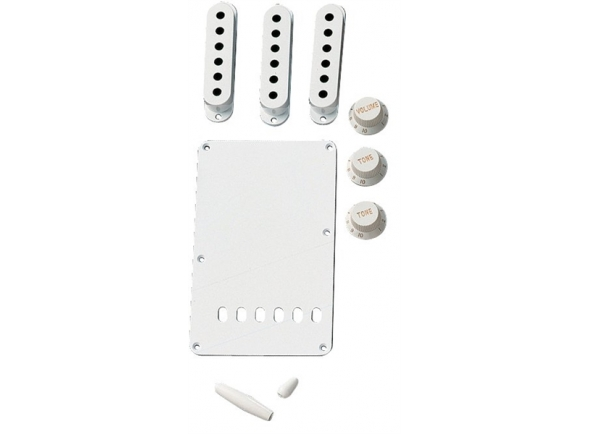 Capas para pick-ups Fender Strat Accessory Kit White