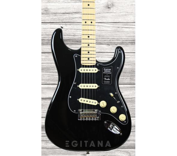 Guitarra elétrica/Guitarras formato ST Fender  Stratocaster Player LTD Edition MN Black