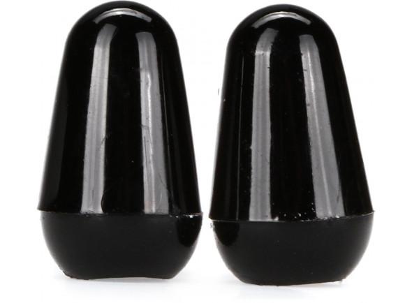 Botão/Interruptor de 5 vias Fender   Switch Tips Black