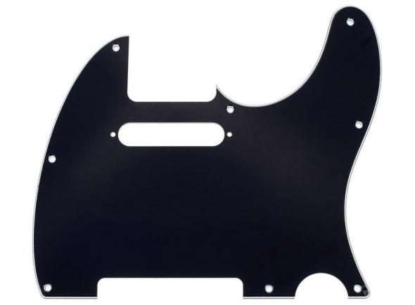 Capas para pick-ups Fender Tele Pickguard BK