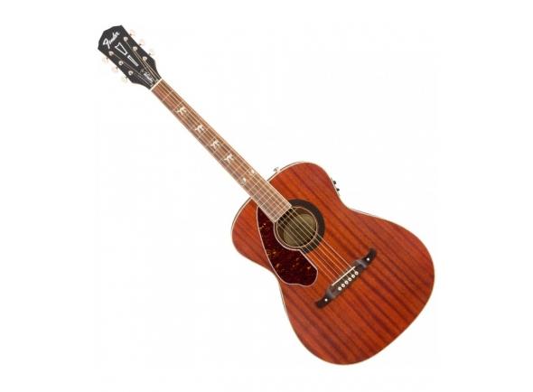 Guitarra Acústica para Esquerdinos/Outras guitarras acústicas Fender Tim Armstrong Hellcat NAT LH