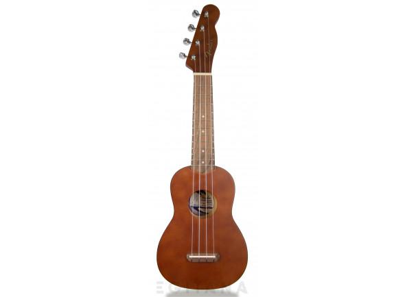 Ukulele Soprano Fender Venice Soprano Ukulele Natural