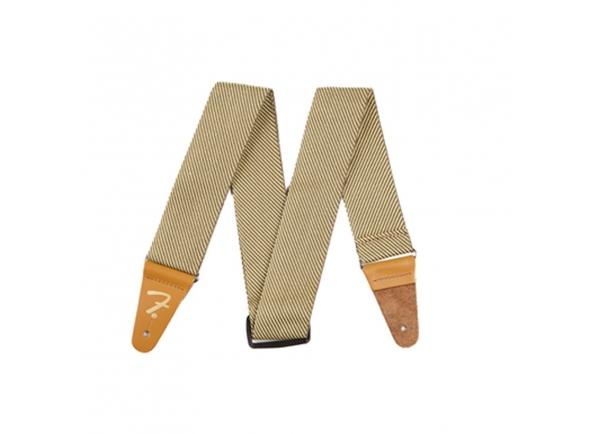 Correia de couro Fender Vintage Tweed Strap