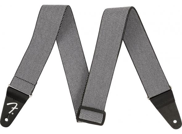 Correia de nylon Fender WEIGHLESS TWEED STRAP WHITE