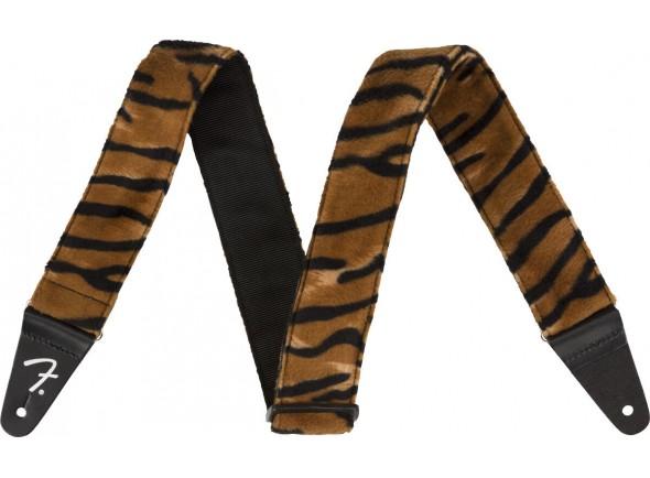 "Correia para guitarra Elétrica/Correia de nylon Fender Wild Tiger Print Strap 2"""