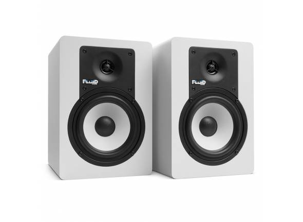 Monitores de estúdio activos Fluid Audio C5 White