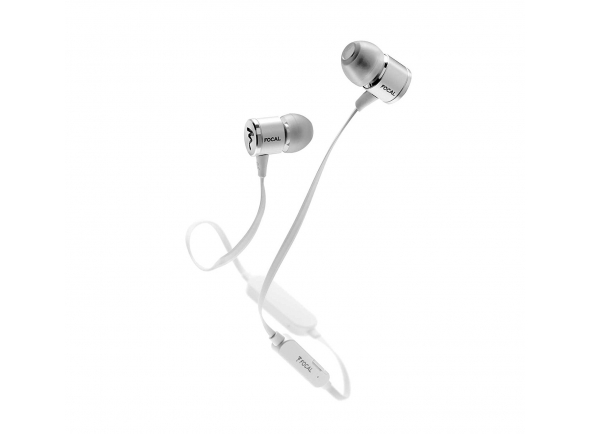 Auscultadores in ear Focal Spark Wireless Silver