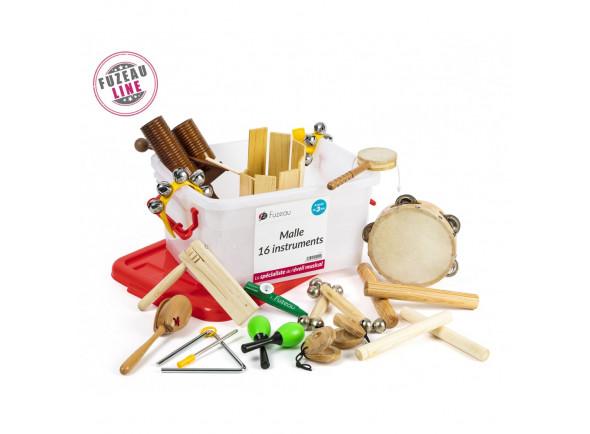 Kit de Instrumentos/Instrumento Orff Focusrite  9242 - 16 Instrumentos