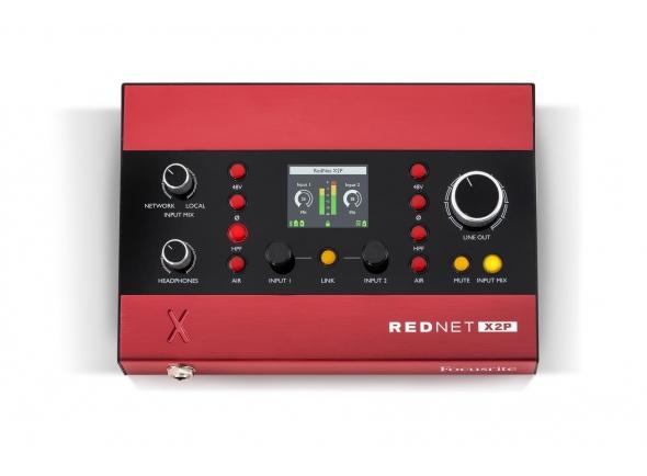 Interfaces Ethernet Focusrite RedNet X2P
