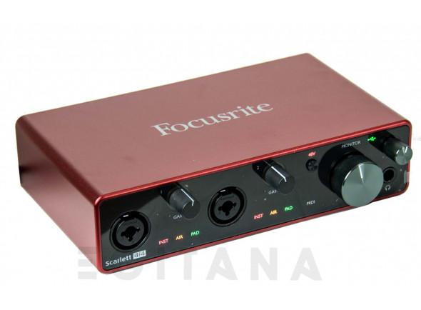 Interface Áudio USB Focusrite Scarlett 4i4 3rd Gen