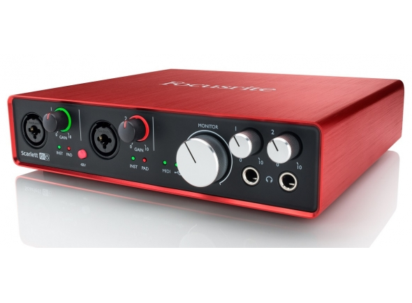 Interface Áudio USB Focusrite Scarlett 6i6 2nd Gen