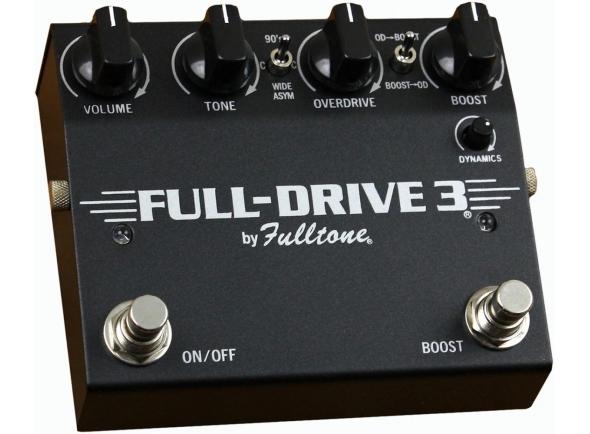 Pedal de distorção/Pedal de distorção Fulltone Full-Drive 3