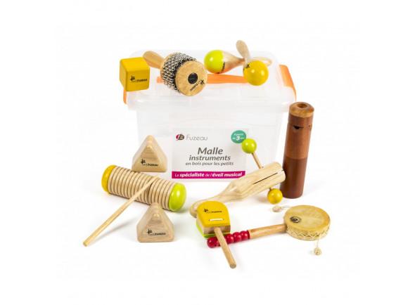 Kit de Instrumentos/Instrumento Orff Fuzeau  70963 10 Instrumentos Mala
