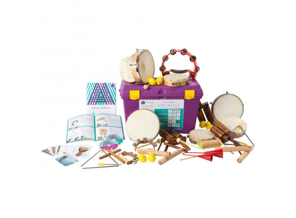 Kit de Instrumentos/Instrumento Orff Fuzeau  71269 24 Instrumentos Mala
