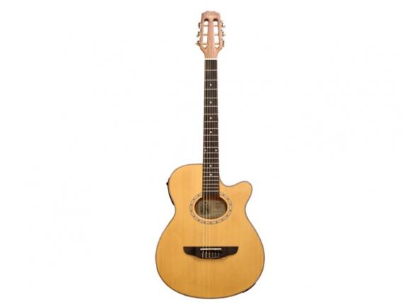 Guitarras clássicas eletrificadas Garrido Bossa Natural Satinado