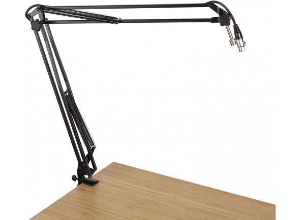 Suporte para microfone Gator Desk-Mounted Broadcast/Podcast Boom FWMICBCBM1000