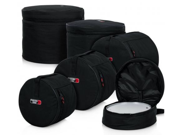 Kit Sacos de Bateria/Estojos para Bateria Gator Drum Bag Set Standard