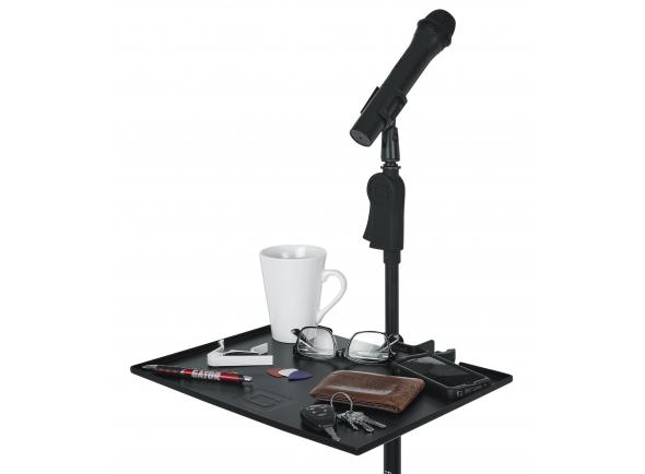 "Suporte para microfone Gator Frameworks 11"" x 15"" Microphone Stand Accessory Shelf"