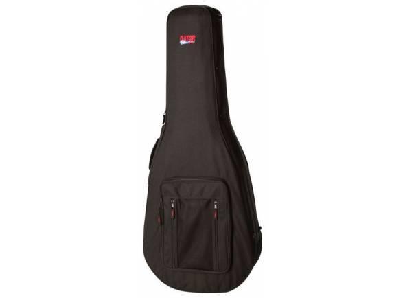 Estojo para guitarra acústica clássica/Estojo para guitarra acústica clássica Gator GL Dreadnought