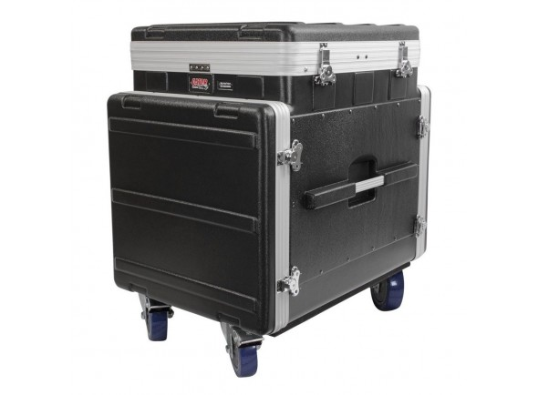 Caixa de rack pop-up/Cases Gator GRC-12X10 PU Moulded Pop-Up Rack Case, 12U Top, 10U Side