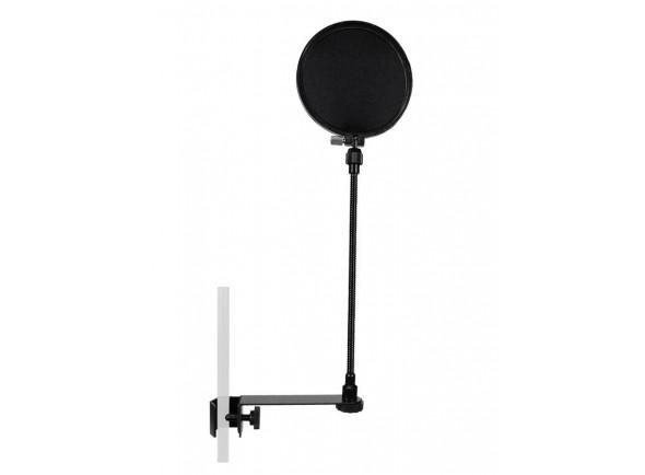 Proteção de vento para microfone com gooseneck/Protecção de vento para microfone Gatt Audio popscreen gooseneck