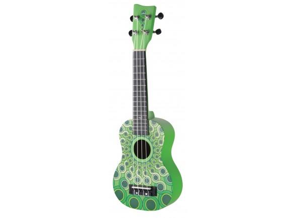 Ukulele Soprano Gewa Manoa W-SO-MG Green