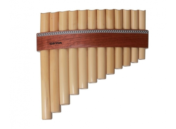 Flautas de PAN/Flauta de PAN Gewa Panpipes C- Major 12 Pipes
