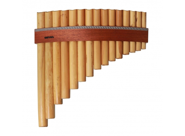 Flauta de Pan/Flauta de PAN Gewa Panpipes C- Major 20 Pipes